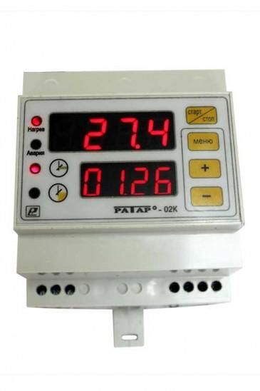 Терморегулятор с таймером